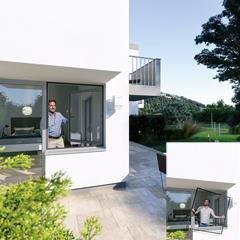 Windhager Insektenschutz-Spannrahmen für Fenster