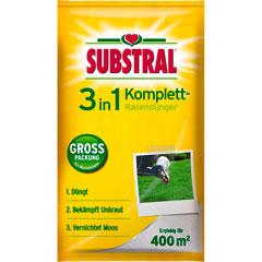 Substral 3 in1 Komplett Rasendünger