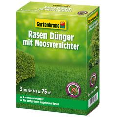 Gartenkrone Rasendünger mit Moosvernichter