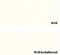 HDM Regalböden Weiß & Weiß hochglänzend