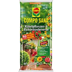 COMPO SANA® Kübelpflanzen- und Balkonkastenerde