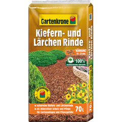 Gartenkrone Kiefer-/Lärchenrinde