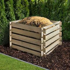 Mr. Gardener Nadelholz-Komposter
