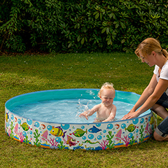 Happy People Steilwand-Pool