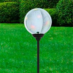Eglo LED-Solarspieß Glaskugel
