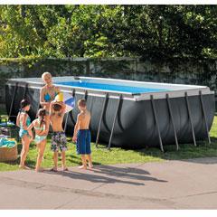 "Steinbacher Frame-Pool-Set ""Ultra Quadra XTR"""